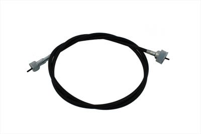 "V-Twin 36-0626 - 54-1/2"" Black Speedometer Cable"