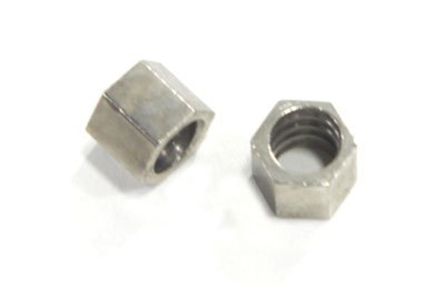 V-Twin 36-0958 - Nickel Throttle Cable Nut Set
