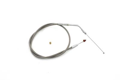 "V-Twin 36-1522 - 35.75"" Stainless Steel Throttle Cable"