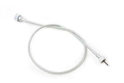 "V-Twin 36-2576 - 35"" Zinc Speedometer Cable"