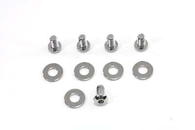 V-Twin 37-0831 - Primary Derby Screw Kit Chrome