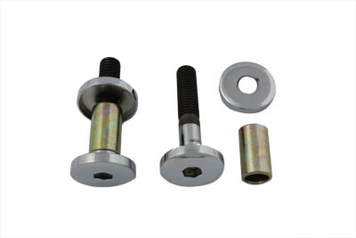 V-Twin 37-0881 - Riser Bolt Kit Allen Type Chrome