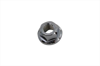 V-Twin 37-0960 - Swingarm Pivot Shaft Nuts Chrome