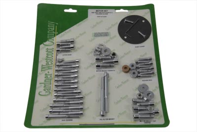 V-Twin 37-2087 - Engine Dress Up Screw Kit Allen Chrome