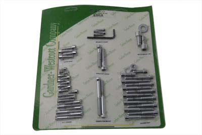 V-Twin 37-2090 - Engine Dress Up Screw Kit Allen Chrome