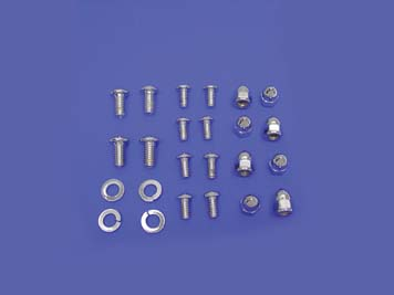 V-Twin 37-6367 - Fender Mount Chrome Allen Screw Kit