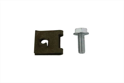V-Twin 37-7252 - Ignition Coil Cover Speed Nut and Screw Kit