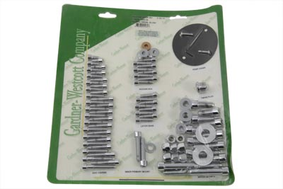 V-Twin 37-8084 - Engine Dress Up Screw Kit Allen Chrome