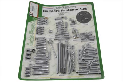 V-Twin 37-8091 - Allen Fastener Set Chrome