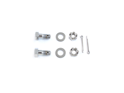 V-Twin 37-8135 - Chrome Caliper Support Bar Bolt Set