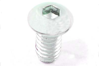 "V-Twin 37-8709 - Allen Button Head Screws Chrome 1/4"" X 2-1/4"""