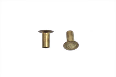 V-Twin 37-8805 - Brake Lining Rivets Short Brass