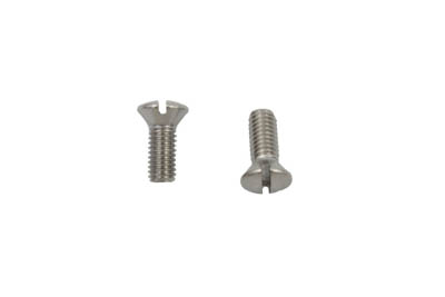V-Twin 37-8821 - Master Cylinder Reservoir Screw Stainless Steel