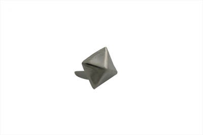 "V-Twin 37-8844 - 3/8"" Pyramid Saddlebag Spots Bright Nickel"