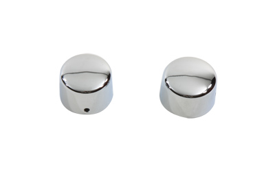 V-Twin 37-8885 - Chrome Rear Axle Nut Cap Set