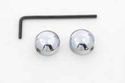 "V-Twin 37-8923 - 1/4"" Socket Bolt Cover Set Chrome"