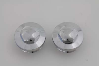 V-Twin 37-8991 - Primary Cap Set Chrome