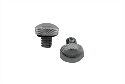 V-Twin 37-9125 - Knurled Seat Tab Mount Knob Set