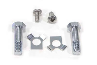 V-Twin 37-9170 - Top Triple Tree Tee Bolt and Lock Kit