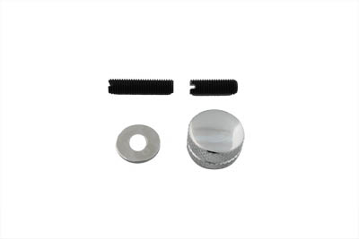 V-Twin 37-9179 - Seat Mount Knob Knurled Chrome