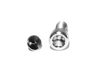 "V-Twin 37-9200 - 3/8"" End Caps for Allen Bolts"