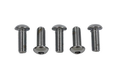 V-Twin 37-9236 - Rear Disc Bolt Kit Chrome