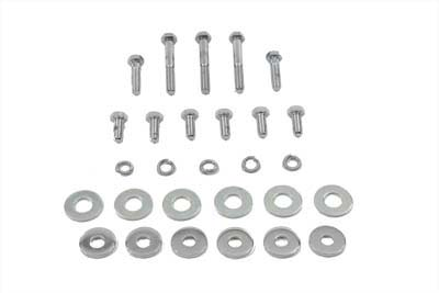 V-Twin 38-0222 - Gas Tank Bolt Kit Chrome
