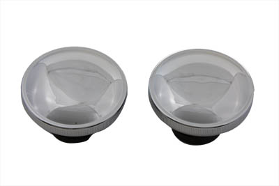 V-Twin 38-0321 - Ratcheting Style Gas Cap Set Vented and Non-Ven