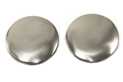 V-Twin 38-0334 - Polished Low Profile Gas Cap Set