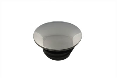 V-Twin 38-0343 - Low Profile Stainless Steel Gas Cap Vented