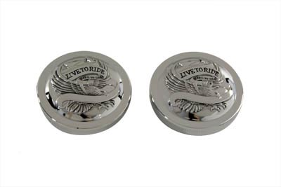 V-Twin 38-0357 - Eagle Spirit Gas Cap Set Vented and Non-Vented