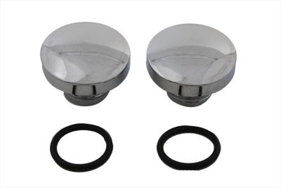 V-Twin 38-0360 - Tall Style Billet Vented and Non-Vented Gas Cap