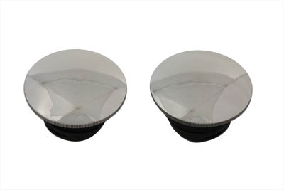 V-Twin 38-0394 - Low Profile Gas Cap Set Vented and Non-Vented
