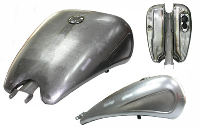 "V-Twin 38-0931 - 2"" Stretched 4 Gallon EFI Gas Tank"