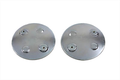 V-Twin 38-7005 - Curved Emblem Gas Tank Mount Set