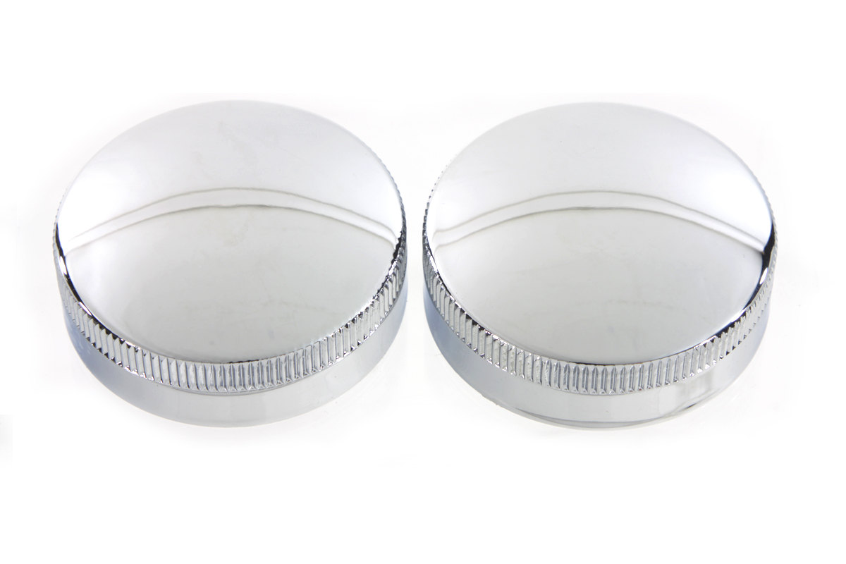 V-Twin 38-7036 - Replica Vented Gas Cap Set