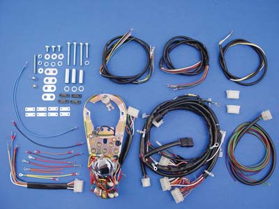 V-Twin 39-0191 - 5 Light Dash Base Wiring Harness Assembly