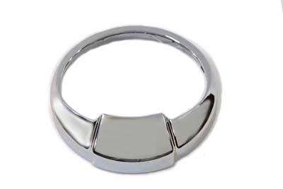 V-Twin 39-0223 - Chrome Speedometer Visor Ring