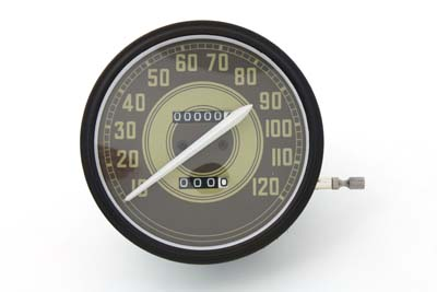 V-Twin 39-0298 - Speedometer with 2:1 Ratio and Army Graphics