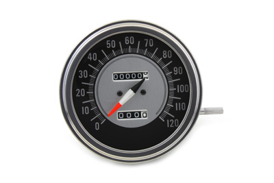 V-Twin 39-0302 - Speedometer with 1:1 Ratio