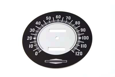 V-Twin 39-0310 - Speedometer Tin Face