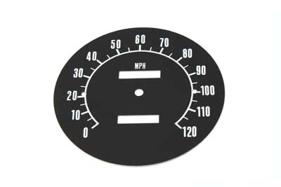 V-Twin 39-0311 - Speedometer Tin Face