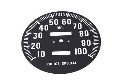 V-Twin 39-0312 - Speedometer Tin Face