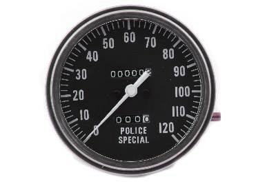V-Twin 39-0322 - Police Special 1:1 Speedometer