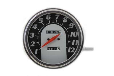 V-Twin 39-0326 - Tombstone Style 2:1 Speedometer