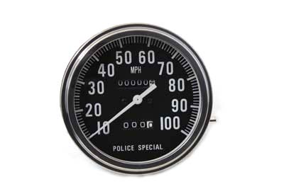V-Twin 39-0327 - Speedometer 2:1 Police Special