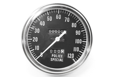 V-Twin 39-0378 - Police Special Speedometer with 2240:60 Ratio