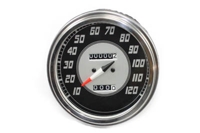 V-Twin 39-0379 - Speedometer with 2240:60 Ratio and Late Needle