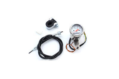V-Twin 39-0440 - Mini 48mm Speedometer with 2240:60 Ratio