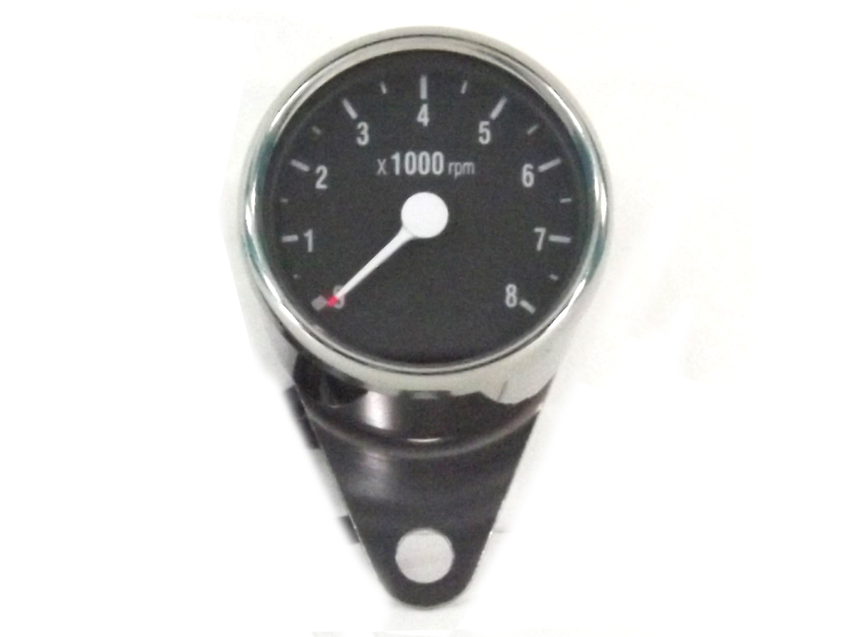 V-Twin 39-0575 - Mini 60mm Electronic Speedometer